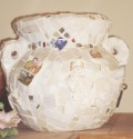 White Mosaic Pot (thumbnail)
