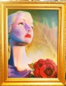 Woman with Rose (thumbnail)