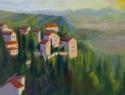 Village on an Italian Hillside (thumbnail)