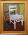 White Chair on Green (thumbnail)