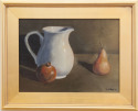 Still Life with Pitcher and Pear (thumbnail)