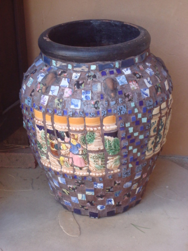 Mosaic Urn Beer Hall
