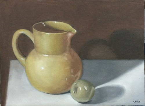 Pitcher and Apple