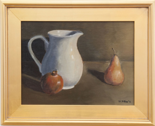Still Life with Pitcher and Pear