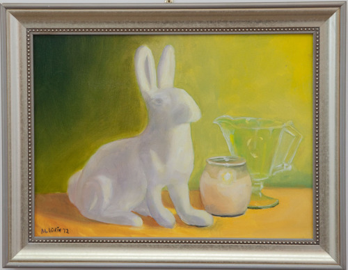 Rabbit by Candle Light