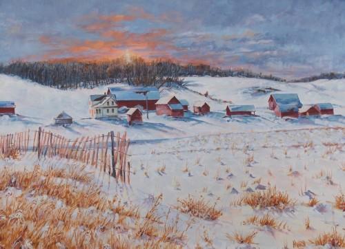 Winter Glow by Marvin Hagen