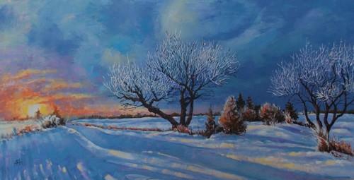 Frosty Morning by Marvin Hagen