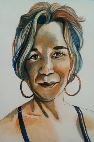 TARA in watercolor (large view)