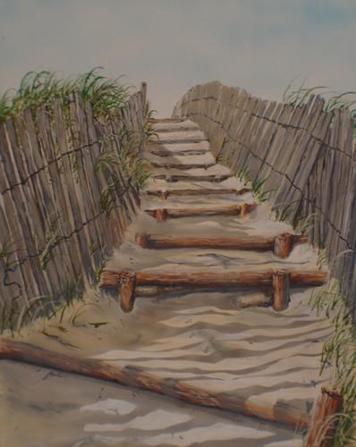 Dune stairs