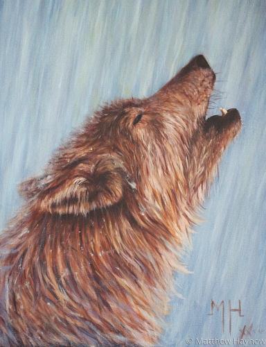 Howling by Matt Hayhow Art