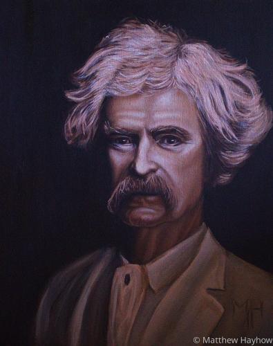 Mark Twain by Matt Hayhow Art