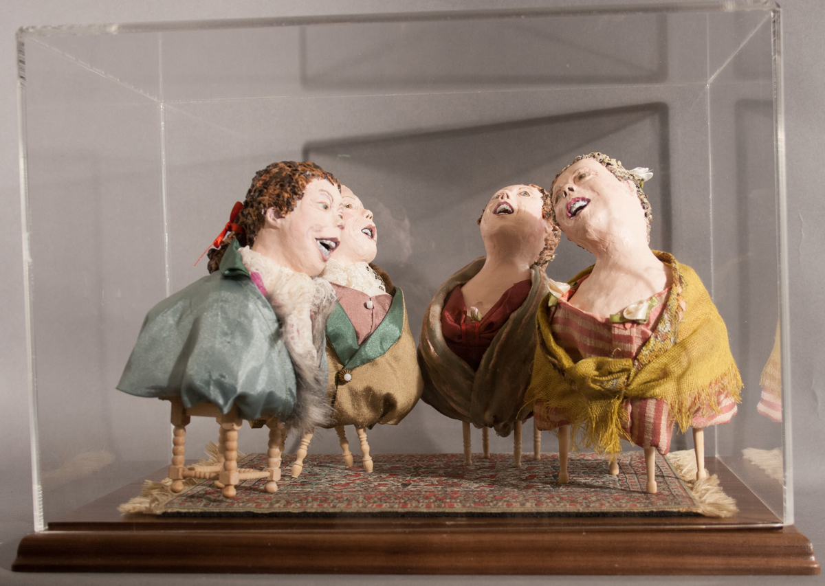Laughers (in vitrine) (large view)