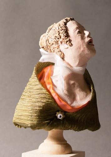 Figure Bust based on Delacroix's Orphan Girl
