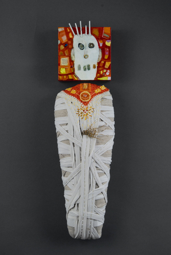 Skeleton ghost mummy