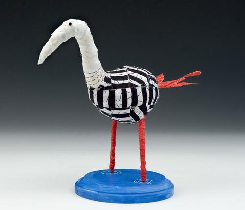 Wader bird
