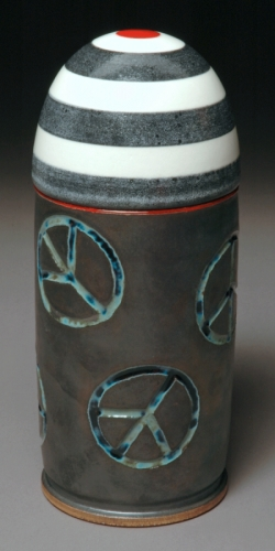 Peacemaker Bullet Covered Jar