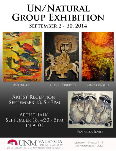 Un/Natural Group Exhibition 2014
