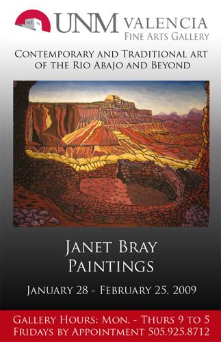 -Janet Bray Paintings 2009