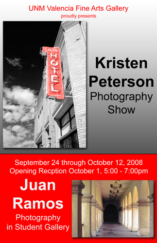 Kristen Peterson and Juan Ramos Photography Show 2008