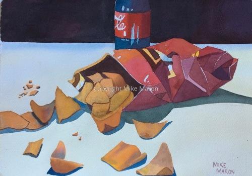 Doritos and a Coke