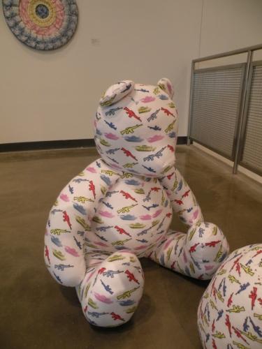 Bearing Arms (detail Baby Bear), 2012