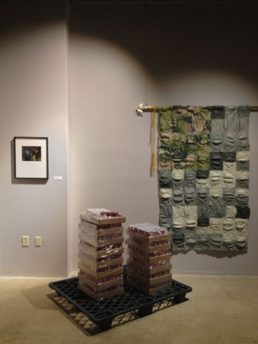 Installation view Phillips Museum, Franklin and Marshall College
