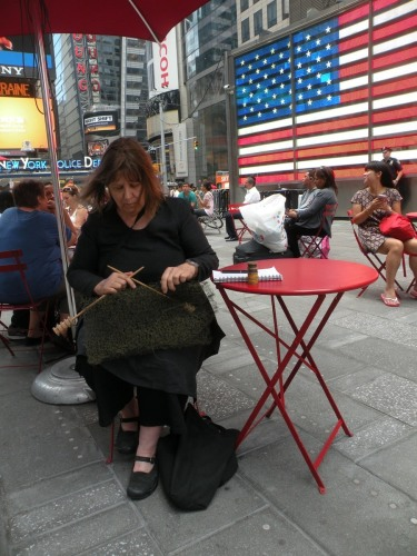 Trip Wire Project, 2014. Time Square.
