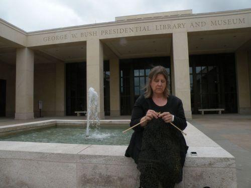 Trip Wire Project, at the Bush Library, Dallas