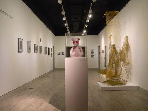 Michele Colburn:Wired exhibition Arlington Art Center, Arlington, VA