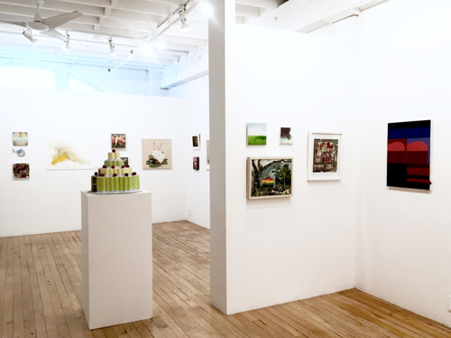 Fight or Flight Exhibition 2017. The Painting Center, NYC