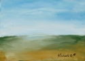 Landscape - #37, original abstract fine art painting