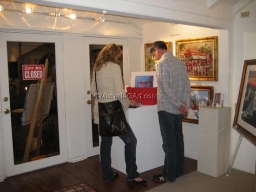 Cove Gallery Reception