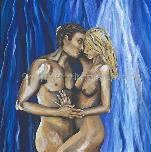 Figurative - Two Lovers
