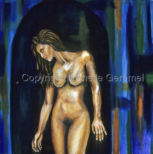 Female Nude - Alone Again