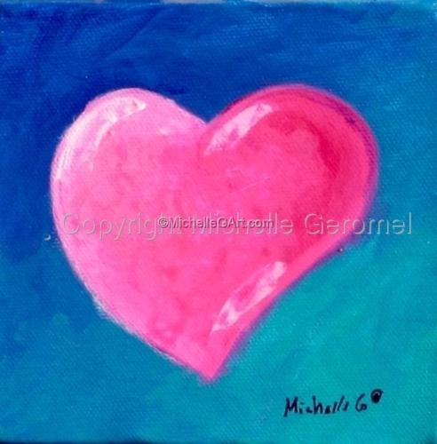 Pink Heart Fine Art 09-19