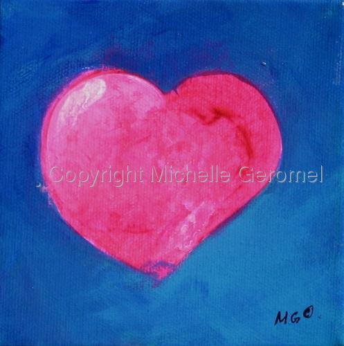 Tiny Pink Heart
