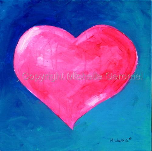 Pink Heart 09-08