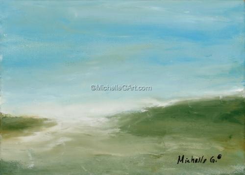 Landscape - #35, original fine art painting