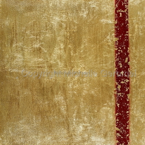 Abstract Gold - Straight Line