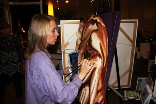 Painting at The Mint