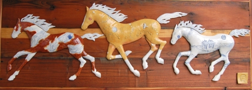 Three Painted Ponies 2