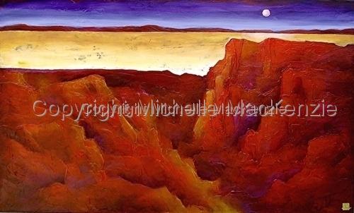 Moonrise by Michelle MacKenzie