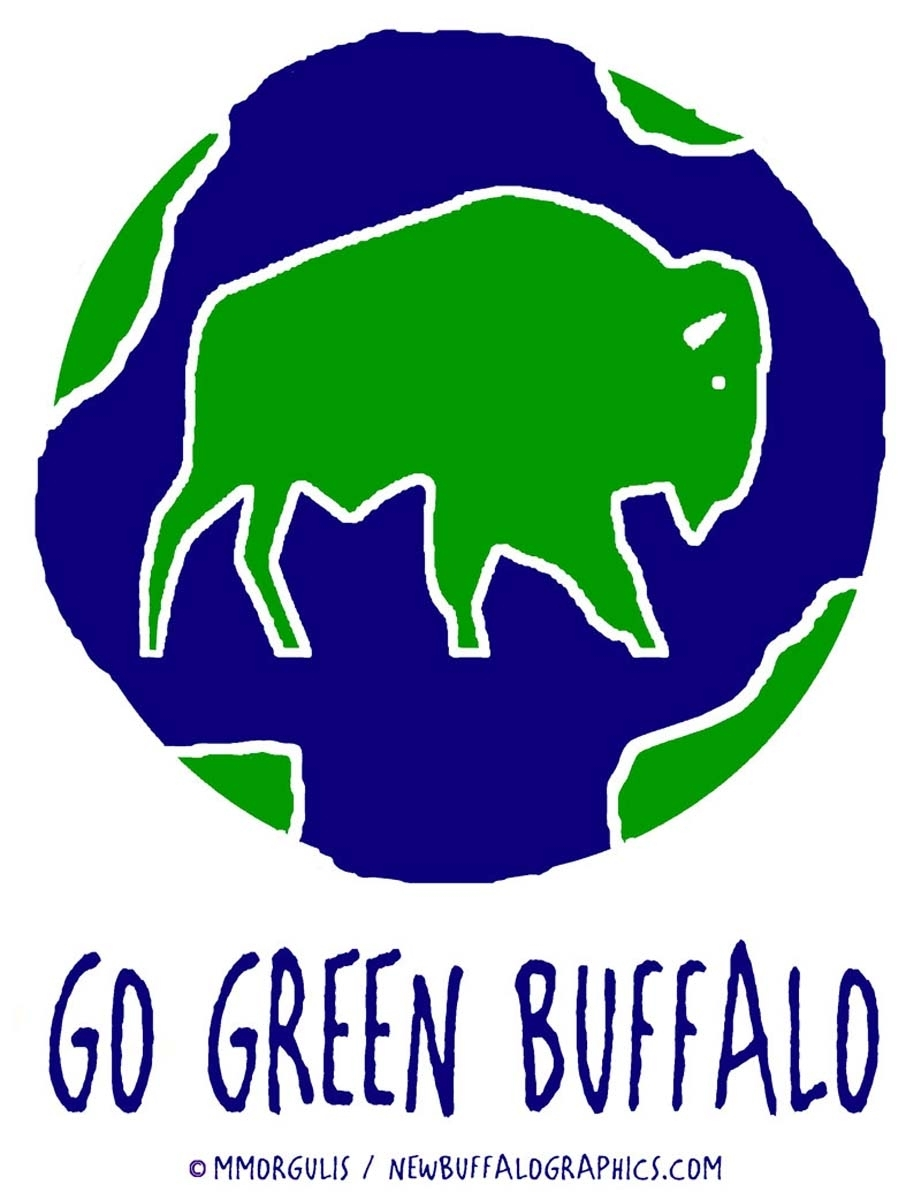 Go Green Buffalo (large view)