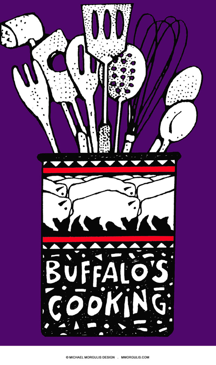 Buffalo's Cooking Aubergine (large view)