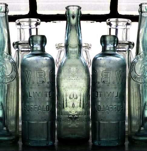 Buffalo Bottles by LOCAL COLOR EDITIONS  .  FEATURING THE ART AND DESIGN OF MICHAEL MORGULIS