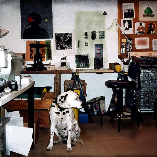 Studio Dog (large view)