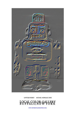 Untitled (Extruded Robot) (large view)