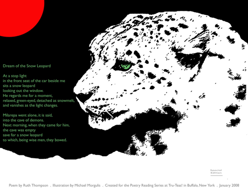 Dream of the Snow Leopard / Ruth Thompson (large view)