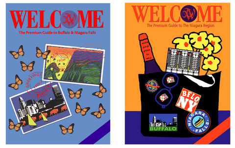 2 Welcome Magazine Covers (large view)