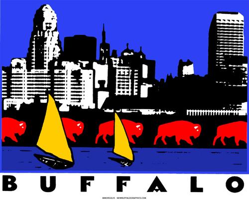 Buffalo Cityscape (large view)